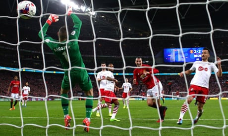 Manchester United's Zlatan Ibrahimovic proves the ace to trump Southampton | Barney Ronay