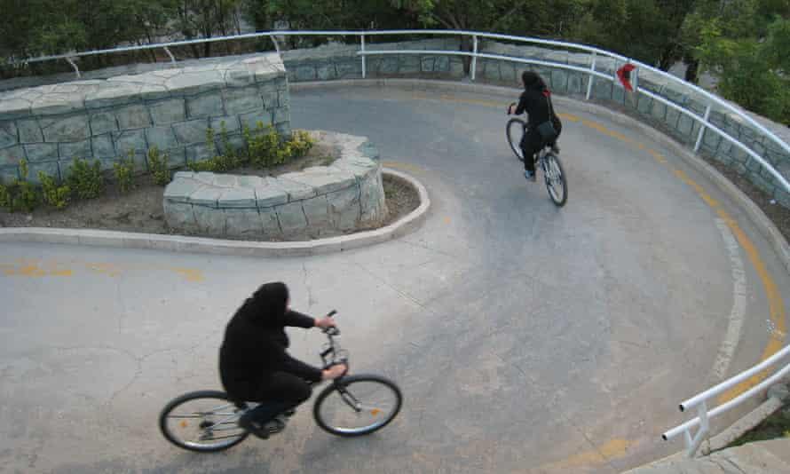 The hijab is obligatory in public in Iran.