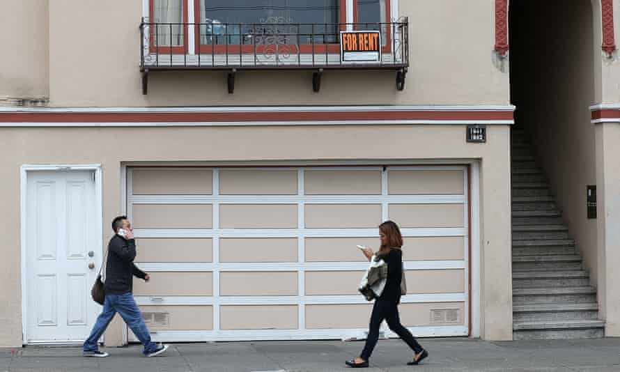 An apartment for rent in San Francisco, a city faces its own housing crisis.