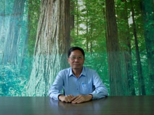 Phan Quyet Tien, vice director of Dong Tien paper recycling plant