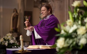 He might have struggled with his vocation, but he never lost faith … Father Michael Kerrigan (Sean Bean).