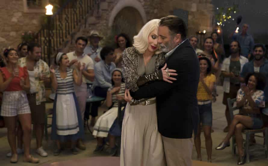 Cher and Andy Garcia in Mamma Mia! Here We Go Again.