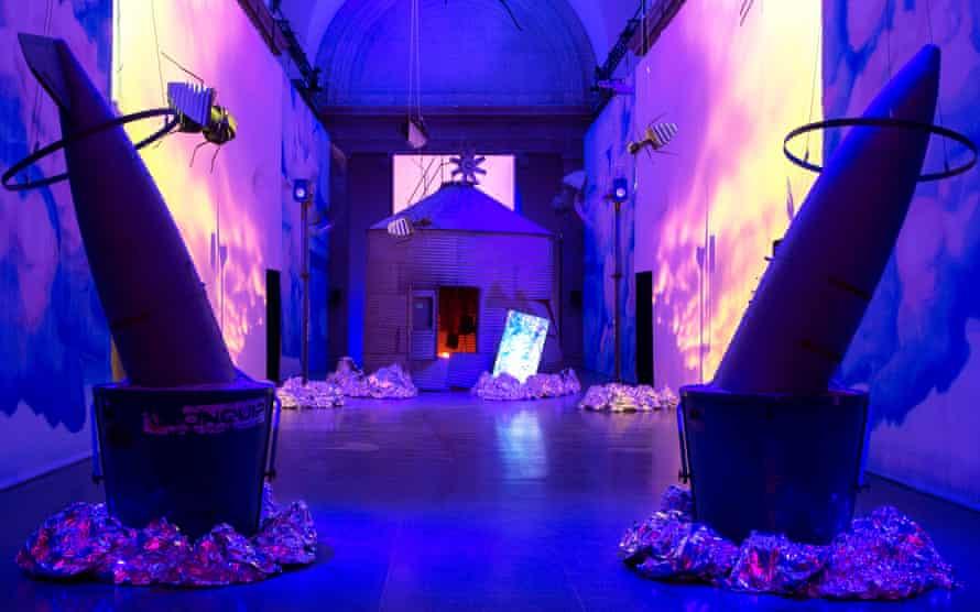 Heather Phillipson's Duveen Galleries installation.