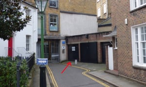 Chelsea garage sells for 360000 at auction money the guardian a single garage with no parking sign in chelseas crescent place has solutioingenieria Choice Image