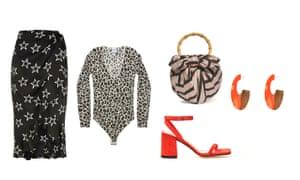 Skirt, £30, riverisland.com, Cashmere body, £298, etc