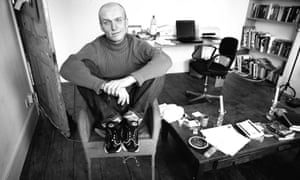 Mark Ravenhill in his office in 1999.