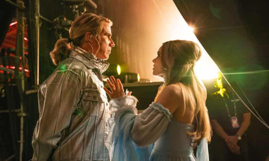 Will Ferrell and Rachel McAdams.