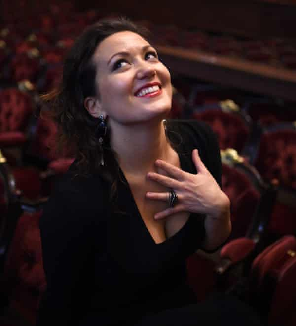 'Very disappointed' … the French soprano Julie Fuchs at the Opera Garnier in Paris, 2015.