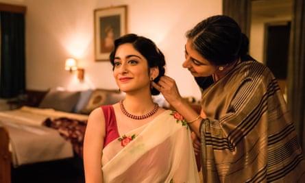 Love across the divide … Tanya Maniktala as Lata and Mahira Kakkar as her mother in director Mira Nair's adapation of Vikram Seth's novel.