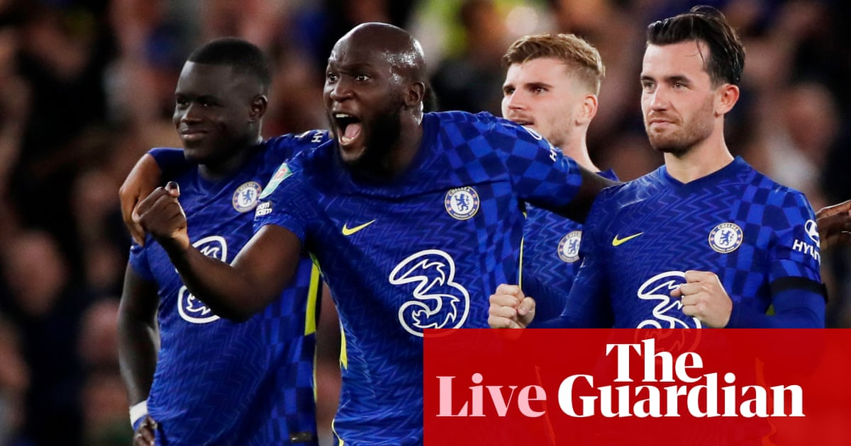 Carabao Cup fourth round draw after Chelsea and Spurs win on penalties – live!