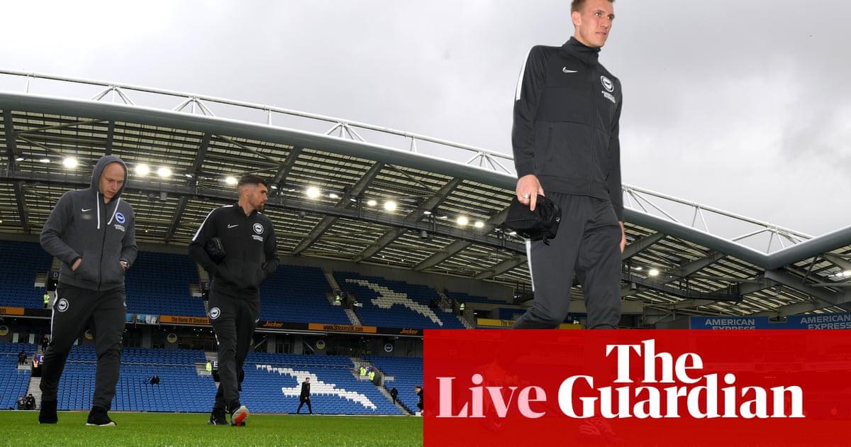 Brighton v Crystal Palace: Premier League - ¡en vivo! El | Fútbol americano 50