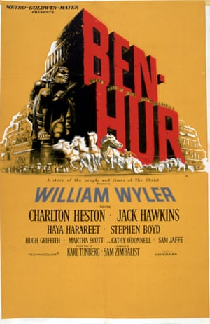 Poster for the film BEN HUR
