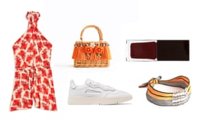 Playsuit, £32, topshop.com Bag, £79.90, uterque.com Trainers, £90 by Adidas from net-a-porter.com Nail polish, £40 by Serge Lutens from harveynichols.com Hairband, £17, stories.com