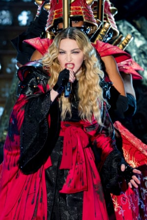 'A splendid host': Madonna at the O2.