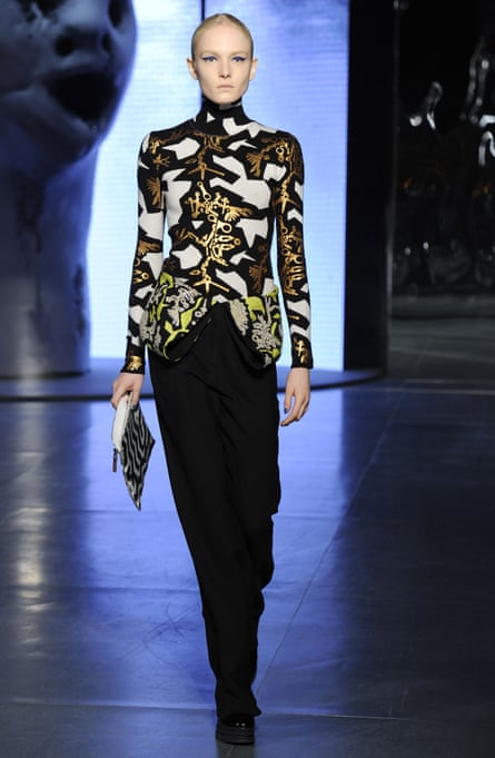 Lynched … Kenzo's autumn 2014 show, which it called its 'Lynch trilogy'.