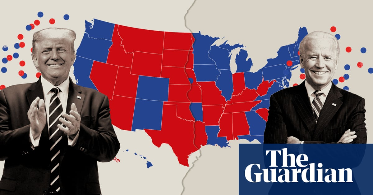Build your own US election result: plot a win for Biden or Trump – The Guardian