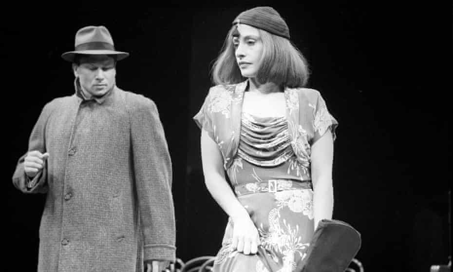 Casey Biggs and Patti LuPone in The Cradle Will Rock in 1985.