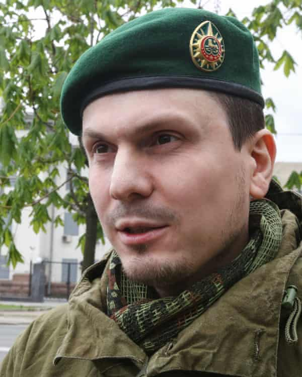 Adam Osmayev was arrested in 2012 on charges of planning to assassinate Vladimir Putin.
