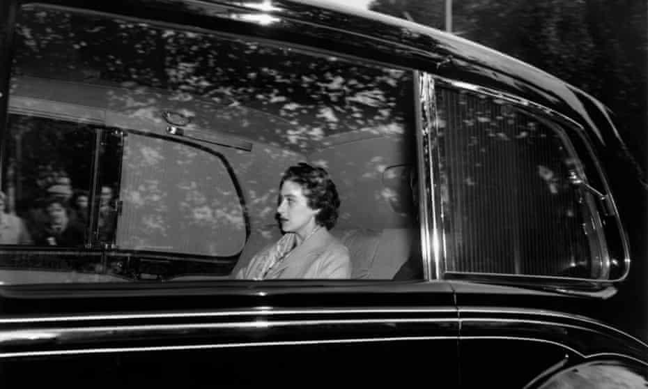 Flickering cameos … Princess Margaret in 1955.