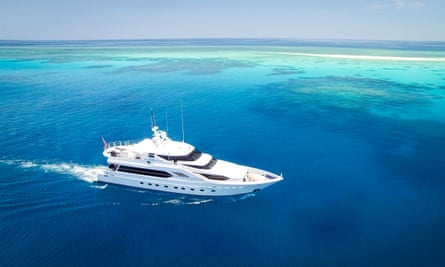 A 21-day Great Barrier Reef research trip on a 32-metre vessel