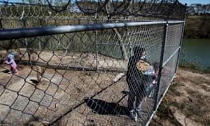 Blanca Urrutia, a Honduran who is seeking asylum in the US, at a migrant camp in Matamoros, Mexico.