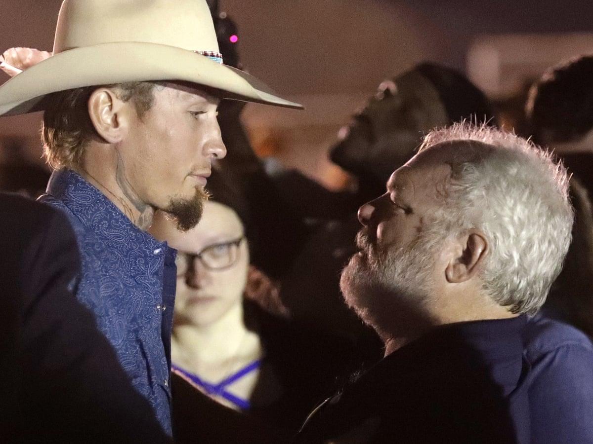 Man Who Opened Fire On Texas Church Shooter Hailed As Good Samaritan Texas Church Shooting The Guardian