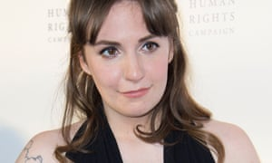 Lena Dunham, who has written in Vogue about her decision to undergo a hysterectomy.
