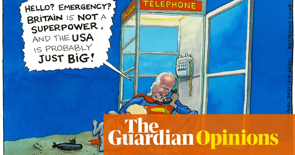 Steve Bell on the special relationship and superpowers — cartoon