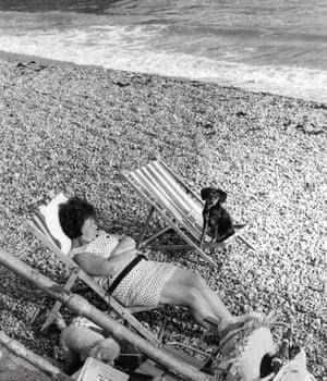 Worthing Beach, 1970s by Dorothy Bohm