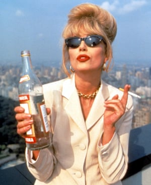 And the same goes for hats and gloves ... Joanna Lumley as Patsy Stone. Photograph: Everett Collection/Rex Features
