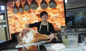 Hamming it up … Fico Eataly World presents the country's food culture in an 'un-Italian' way, say some.