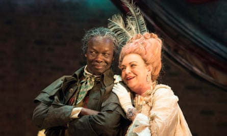 Leo Wringer and Sophie Stanton inThe Fantastic Follies of Mrs Rich.