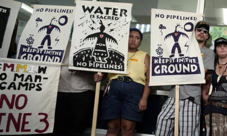 'This battle to protect what I love is now here in Minnesota, against Enbridge's Line 3 pipeline.'