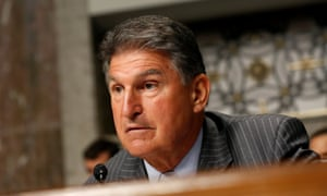Senator Joe Manchin of West Virginia.