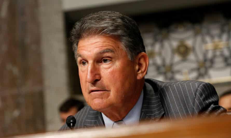 Senator Joe Manchin of West Virginia.
