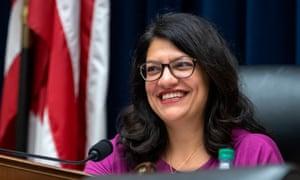 Rashida Tlaib, part of 'the Squad' of progressive Democrats.