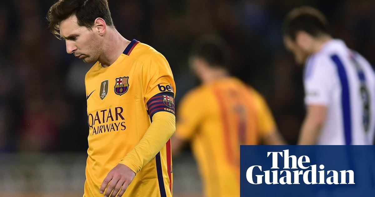 d36bad34604 Wakey-wakey! Stumbling Barcelona give slumbering La Liga new lease ...