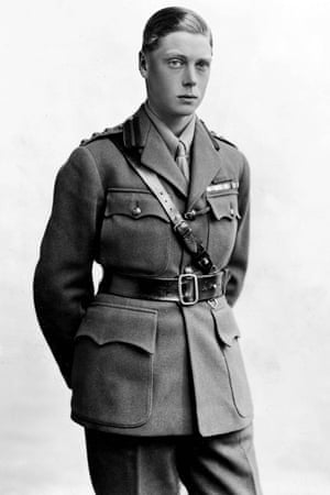 The Prince of Wales, later King Edward VIII, and finally the Duke of Windsor, pictured as a young man in military uniform. Lord Louis Mountbatten wrote disparagingly of Australians on a visit to the country with the prince.