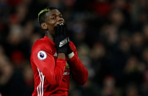 Pogba, should have done better.