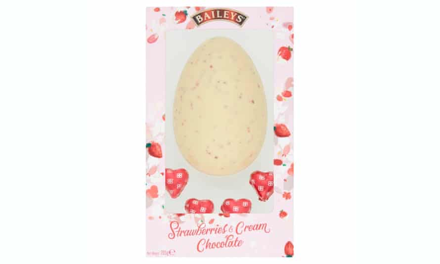 Baileys Strawberries and Cream egg