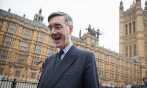 Jacob Rees-Mogg arrives at the Houses of Parliament
