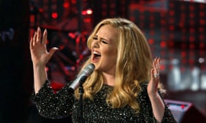 Determinedly single-minded ... Adele.