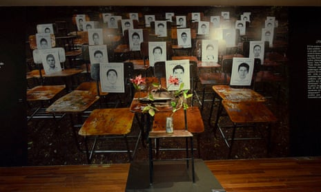 La Raíz (The Root): a homage to the 43 students who vanished on 26 September 2014 in Guerrero.