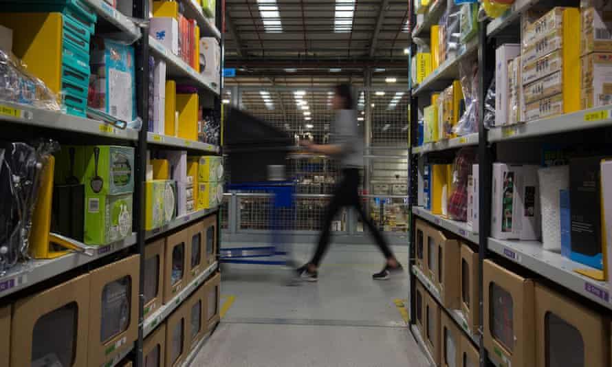 Amazon's distribution centre at Kingston Park