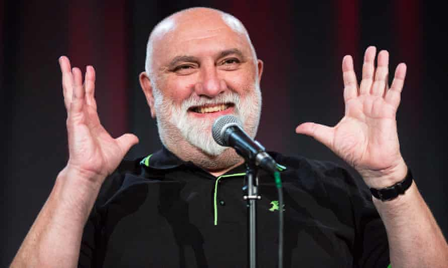 Alexei Sayle performing at the Edinburgh fringe earlier this year.