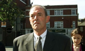 Ex-Superintendent Bernard Murray arrives at Leeds crown court on 21 July 2000.