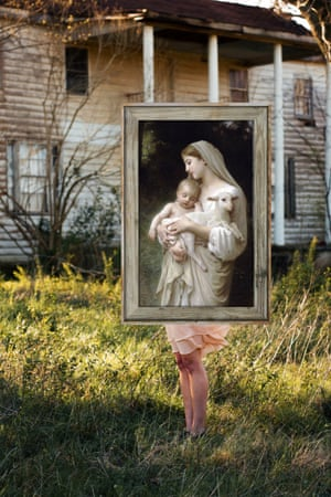 L'Innocence by William Adolphe Bouguereau photographed by Michael Thibault