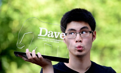 Ken Cheng's pound coin gag voted Edinburgh fringe's funniest joke
