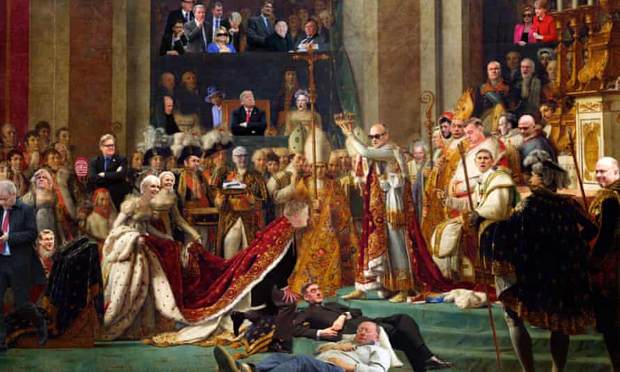 The Coronation, from Christopher Spencer's exhibition You, Me and Cold War Steve – The International Exhibition of the People.