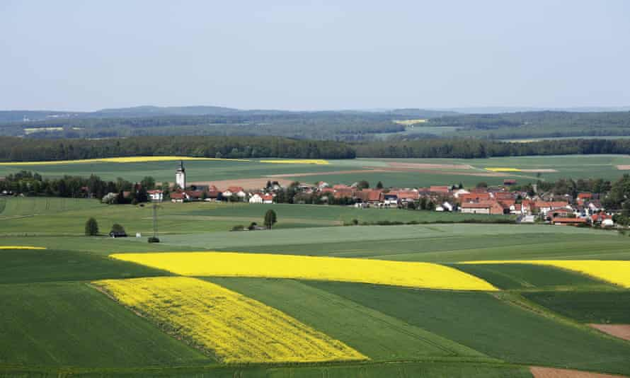 The Bavarian village of Grossbardorf gets its energy from biogas from crops grown by local farmers.